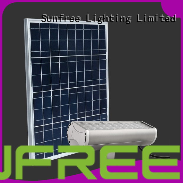 SUNFREE solar flood light company for parking lot