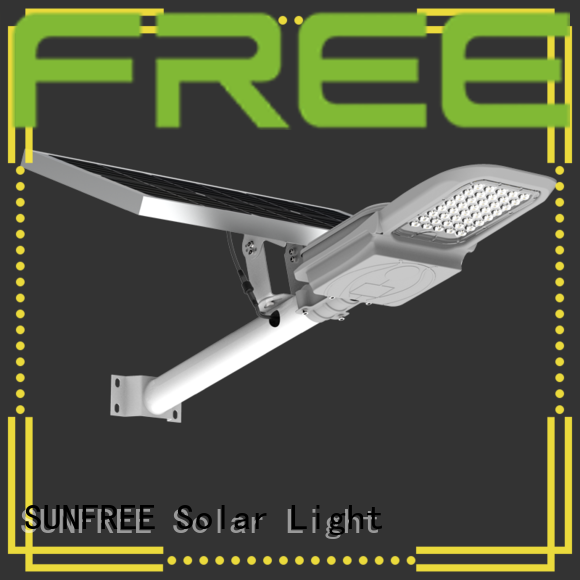 SUNFREE solar street light manufacturer factory price for buildings