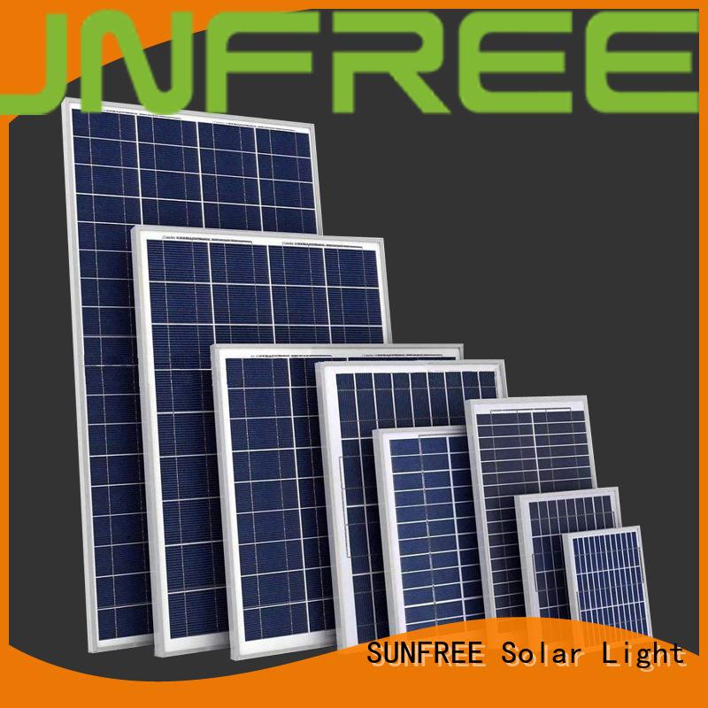 SUNFREE long lasting solar panels for home supplier for solar light