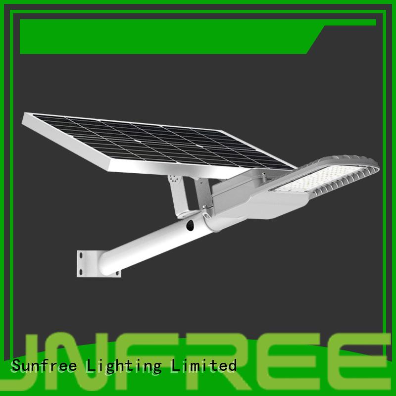 SUNFREE hot selling solar led street light supplier for buildings
