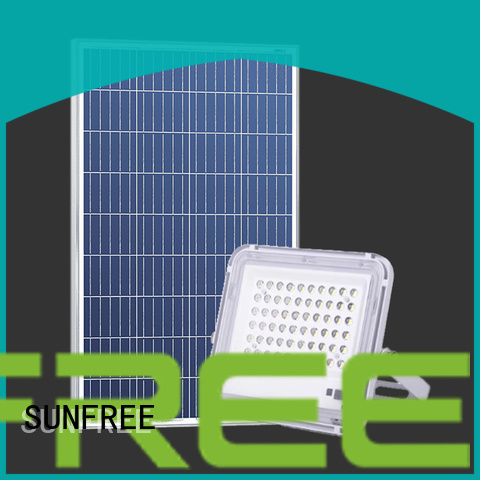 SUNFREE solar powered flood lights suppliers for garden
