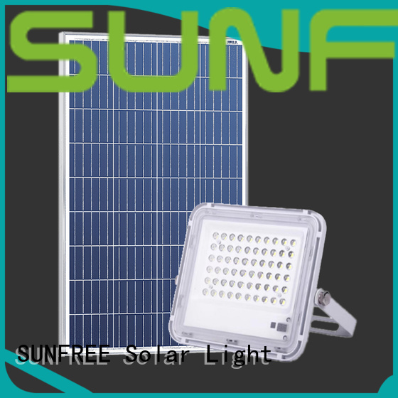 SUNFREE outdoor solar flood lights factory for highways
