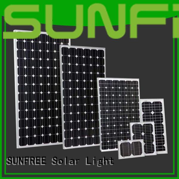 SUNFREE solar power panels factory price for home