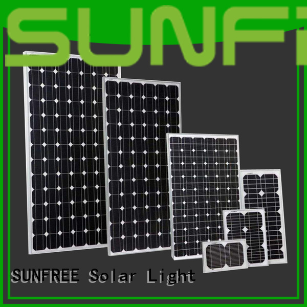 SUNFREE cost-effective solar power panels factory price for electrical appliances