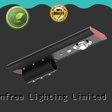 SUNFREE hot selling solar powered street lights factory price for buildings