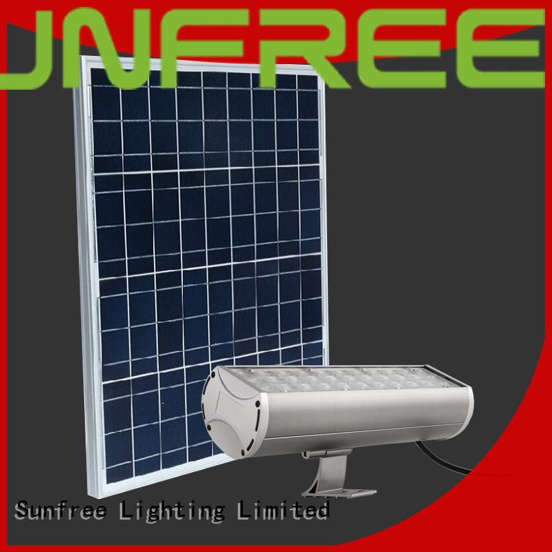 SUNFREE waterproof outdoor solar flood lights supply for garden