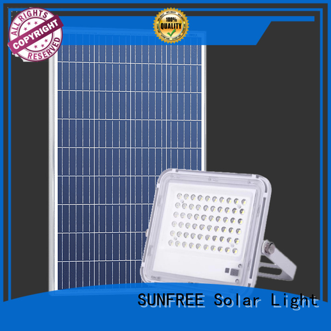 SUNFREE high-quality outdoor solar flood lights supply for garden