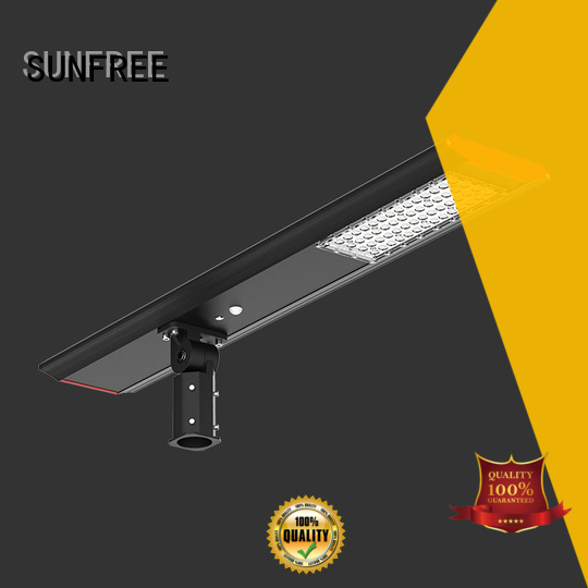 SUNFREE waterproof solar led street light factory direct supply for roads