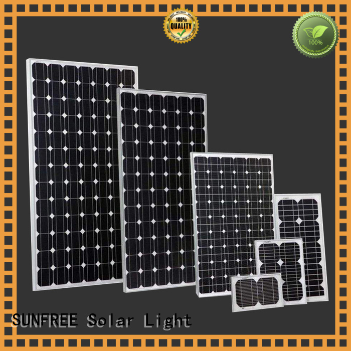 SUNFREE top quality solar panels for home factory direct supply for electrical appliances