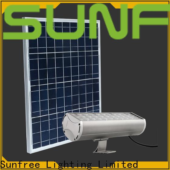 SUNFREE waterproof solar powered flood lights factory for roads