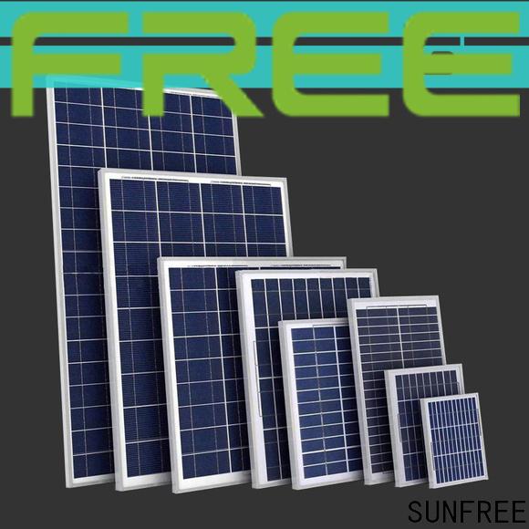 SUNFREE solar panel system wholesale for solar light
