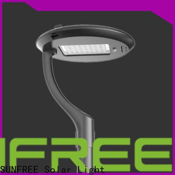 SUNFREE solar powered garden lights factory direct supply for home