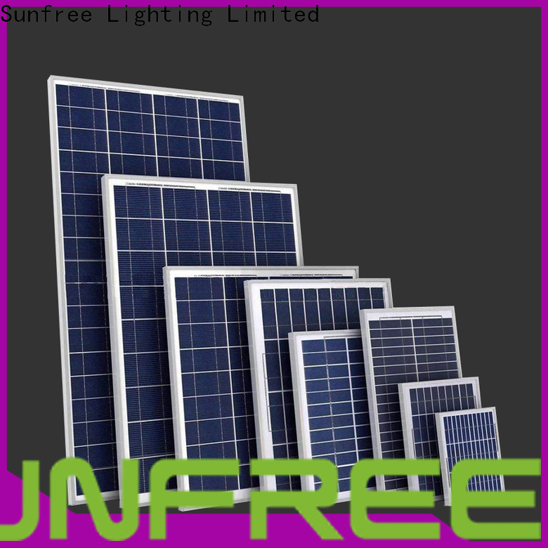 SUNFREE durable solar panels for home with good price for roof