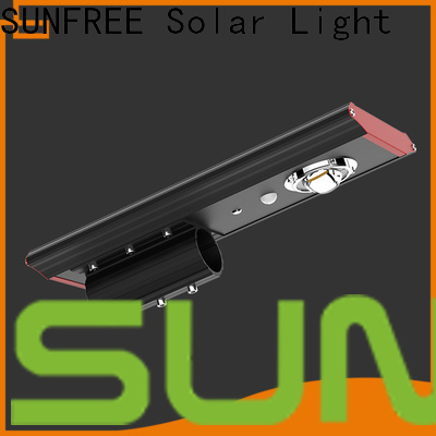 SUNFREE professional all in one solar street light factory price for highways