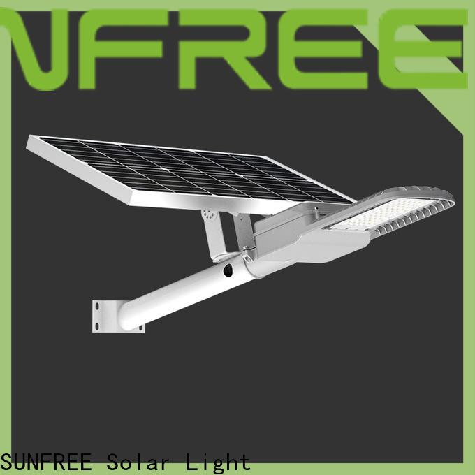 SUNFREE energy saving all in one solar street light wholesale for highways