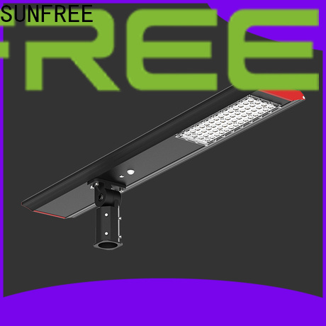 SUNFREE cost-effective solar street lamp wholesale for parks