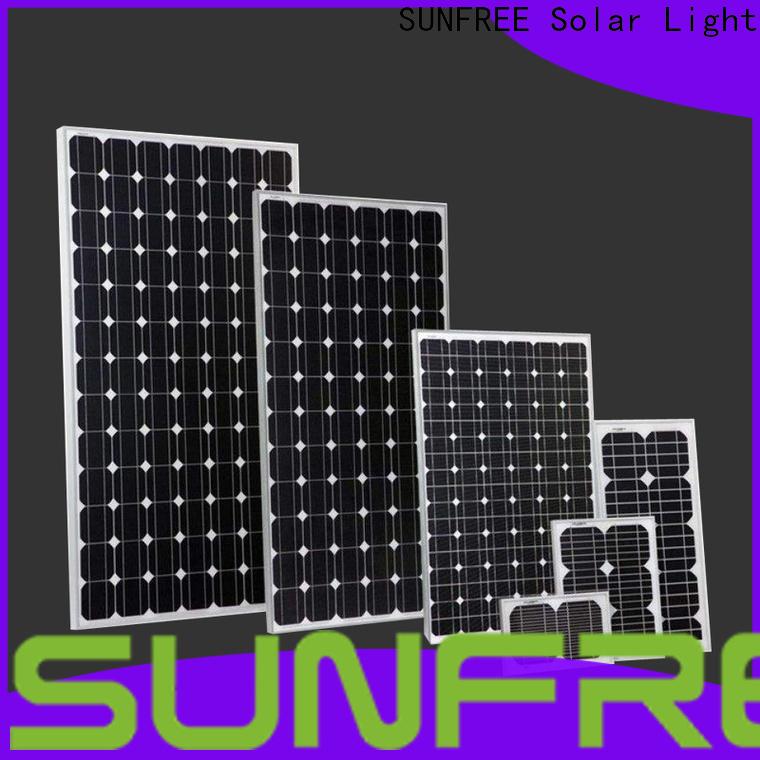 SUNFREE solar panel system supplier for solar light