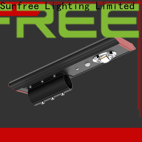 SUNFREE excellent solar powered street lights factory price for roads
