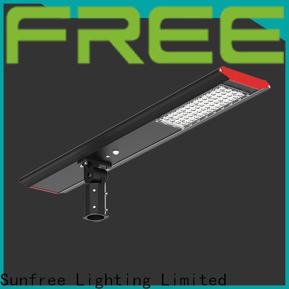 SUNFREE cost-effective solar street light with good price for buildings
