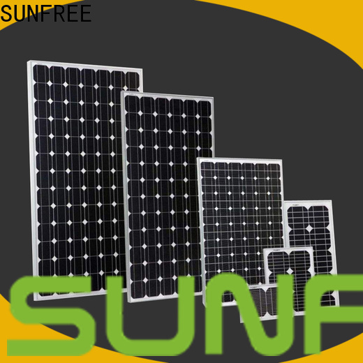 SUNFREE solar panel manufacturers with good price for electrical appliances