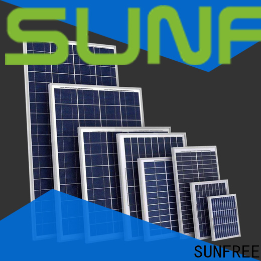 SUNFREE solar panels supplier for roof
