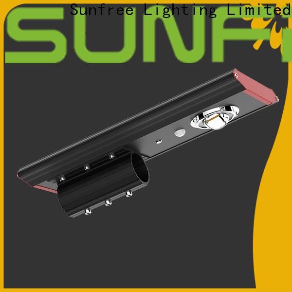 SUNFREE waterproof solar street lamp wholesale for buildings
