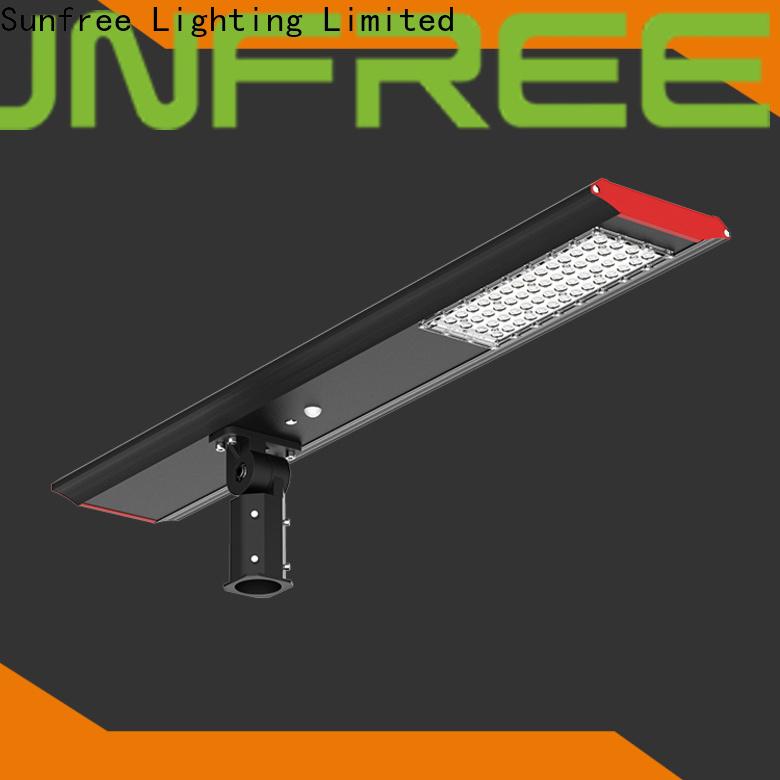SUNFREE solar powered street lights supplier for buildings