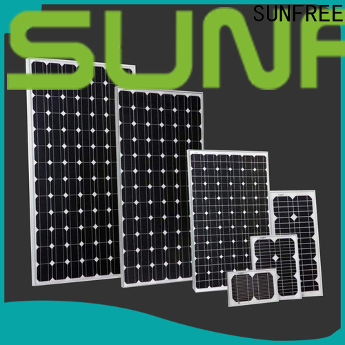 SUNFREE solar panels for home factory price for solar light