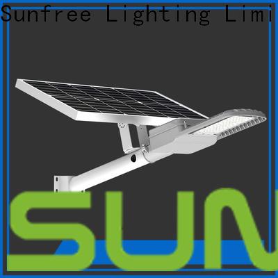 SUNFREE solar street light supplier for buildings