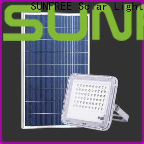 SUNFREE solar led flood lights suppliers for highways