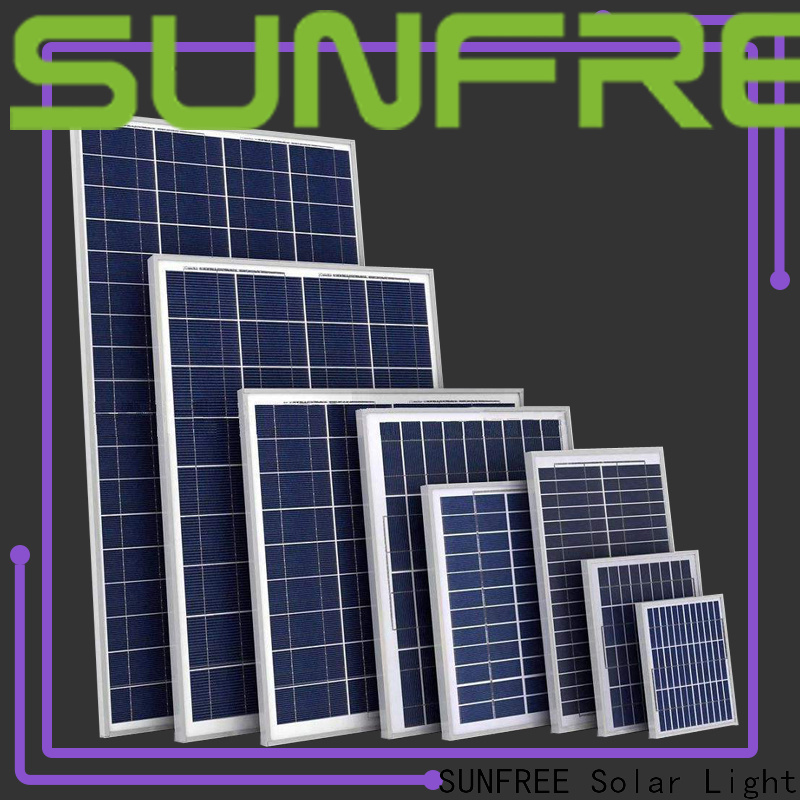 SUNFREE solar panels factory price for roof