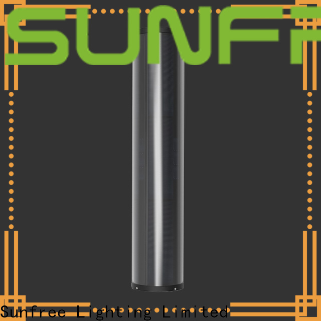 SUNFREE high quality solar powered light pole manufacturer for buildings
