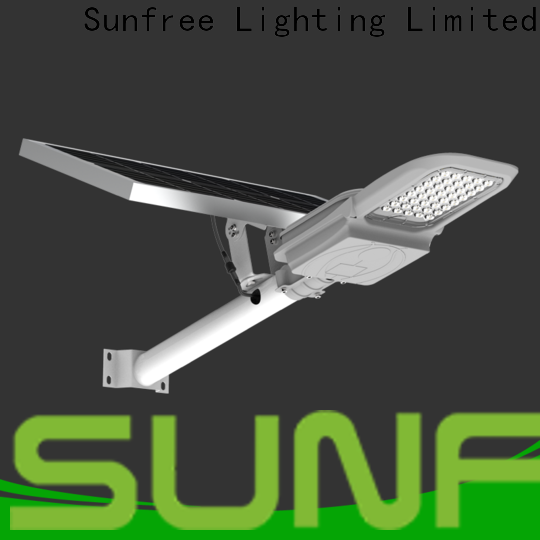 SUNFREE cost-effective solar street lamp with good price for parks