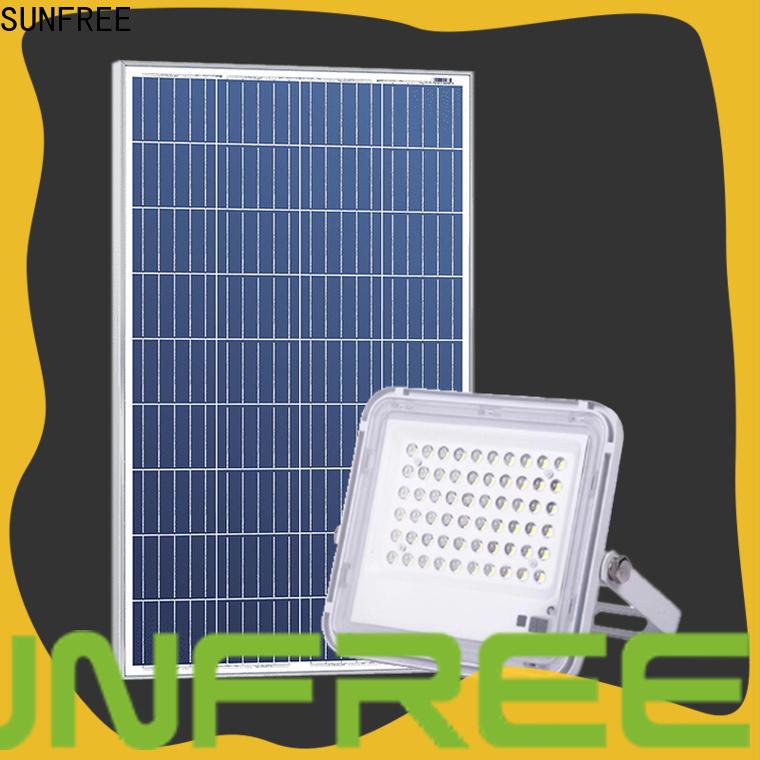 SUNFREE high-quality solar flood light supply for garden