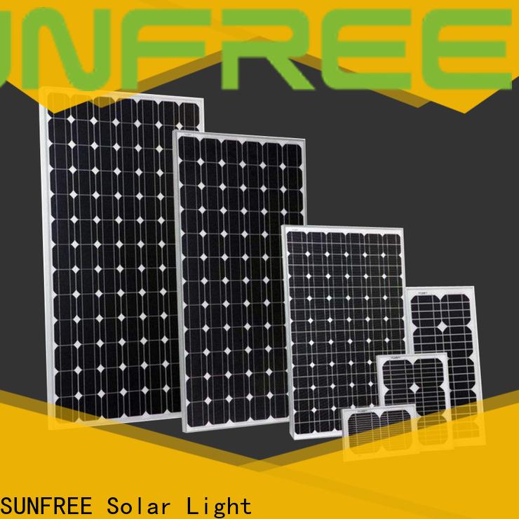 SUNFREE solar power panels with good price for solar light