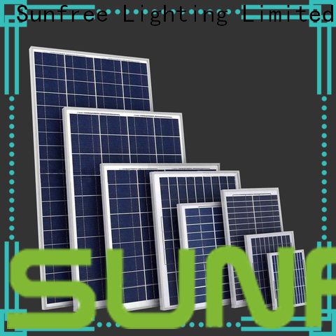 SUNFREE top quality solar panels supplier for home