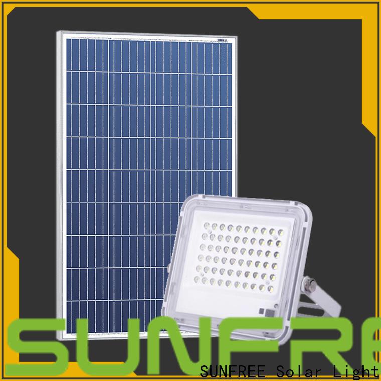 SUNFREE solar led flood lights supply for highways