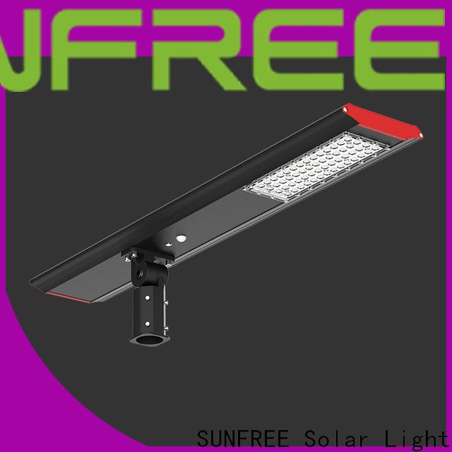 SUNFREE solar street light manufacturer with good price for parks