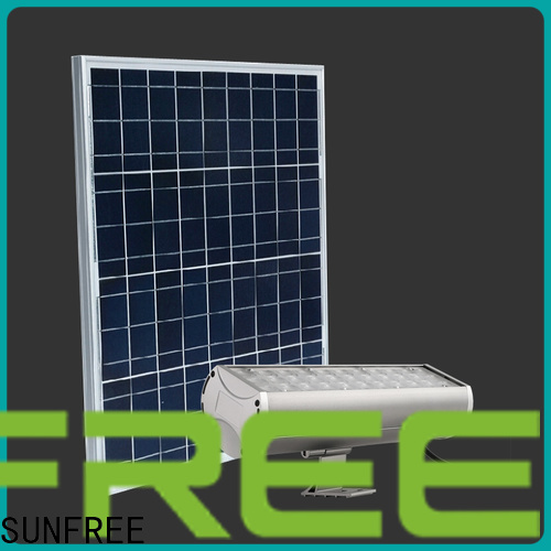 long lasting solar powered flood lights factory for parking lot