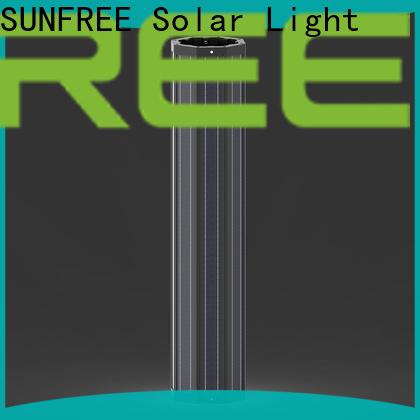 durable outdoor solar light pole wholesale for parking lot