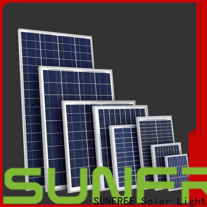 long lasting solar panel system factory direct supply for solar light