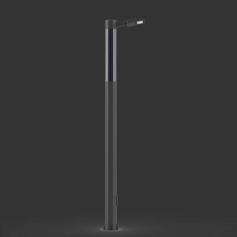4M Integration solar tube street light