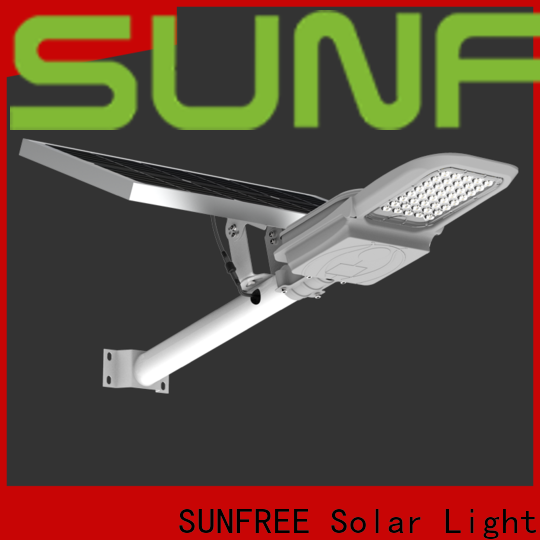SUNFREE solar powered street lights with good price for parks