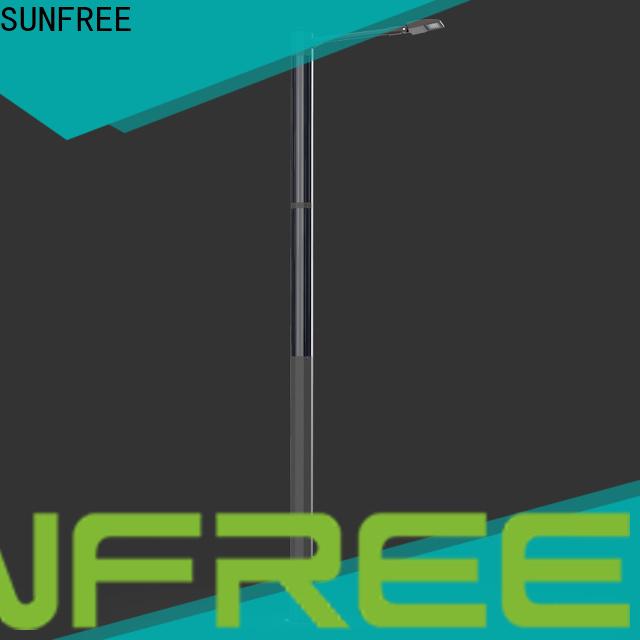 SUNFREE solar led street light with good price for parks