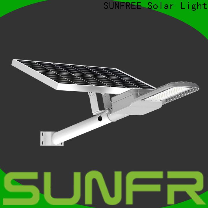 SUNFREE all in one led solar street light supplier for parks