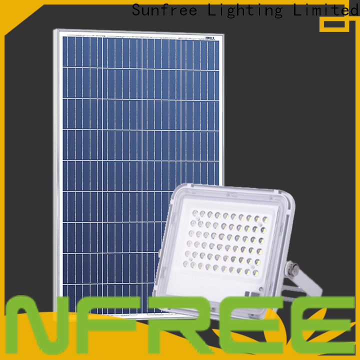 SUNFREE floodlight solar suppliers for roads
