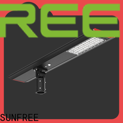 SUNFREE popular solar street light factory direct supply for parks