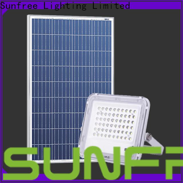waterproof floodlight solar supply for garden