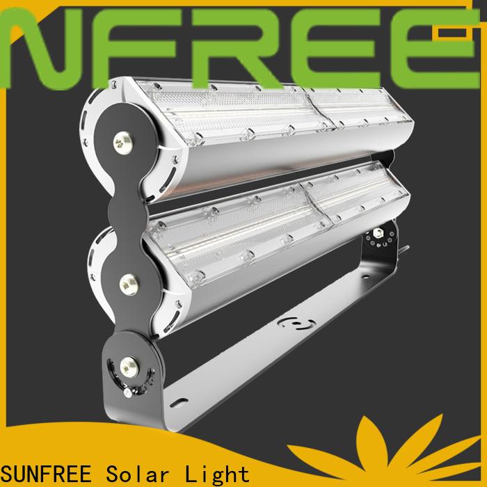 SUNFREE efficient outdoor led flood light fixtures wholesale for roads
