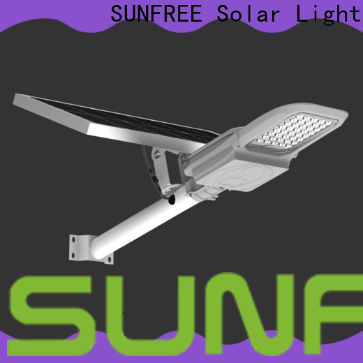 SUNFREE hot selling solar street lamp with good price for parking lot